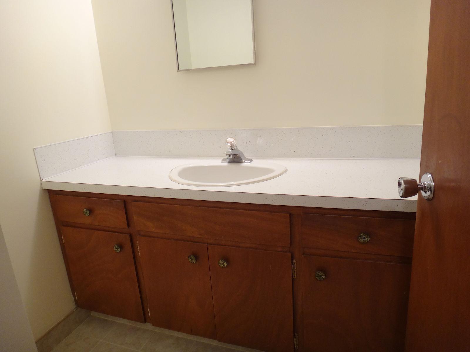 Bathroom vanities calgary ab - Bathroom With Vanity